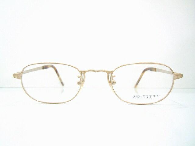 Zip+homme(ジップオム)Z-103 メガネフレーム新品 めがね 眼鏡 サングラス 彫金 鯖江 ヴィンテージ クラシック