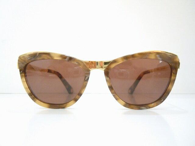 HARDY AMIES(ハーディ・エイミス)MARYLAND col.MARBLE BROWN サングラス新品 めがね 眼鏡 メガネフレーム