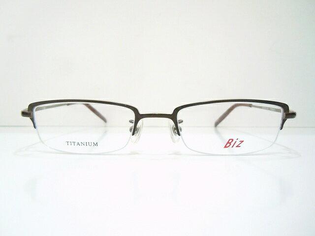 Biz(ビズ)BI-806 メガネフレーム新品 めがね 眼鏡 サングラス チタン バイカラー 老眼鏡 パソコン 日本製