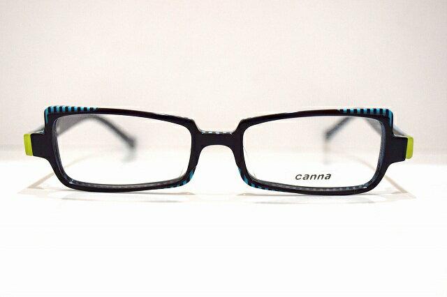 canna(キャンナ)006 col.3メガネフレーム新品 めがね 眼鏡 サングラス 伊達 手彫り 鯖江 近視 老眼鏡