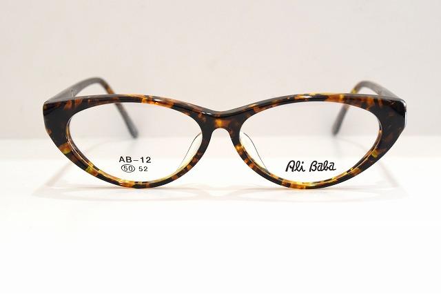 Ali col.トパーズヴィンテージメガネフレーム新品めがね眼鏡サングラスべっ甲柄メンズレディース Baba(アリババ)AB-12
