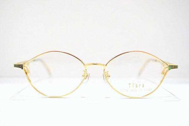 Tiara(ティアラ)106 メガネフレーム新品 めがね 眼鏡 サングラス 手作り 国産 日本製 七宝