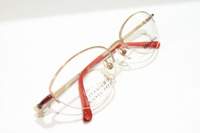 メガネフレーム新品 レディース 眼鏡 サングラス めがね SONIA RYKIEL (ソニアリキエル) 特価 婦人用 68-0023