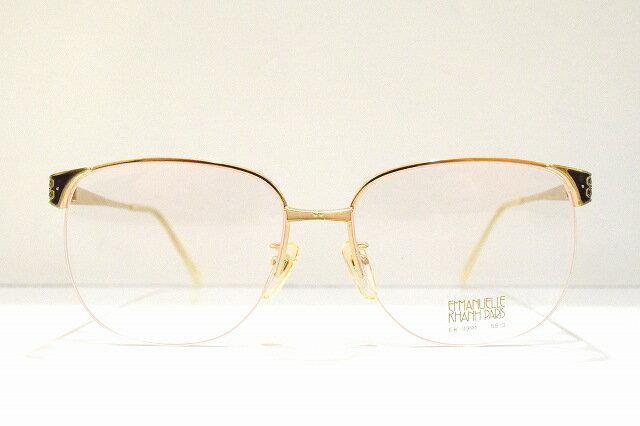 EMMANUELLE KHANH(エマニュエルカーン)EK-9391 ヴィンテージメガネフレーム新品 めがね 眼鏡 サングラス