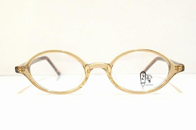 ZEN EYEGEARS ZN-1005 TRUPEヴィンテージメガネフレーム新品 めがね 眼鏡 サングラス 彫金 クラシック