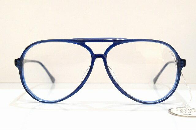 エンパイヤEMPIRE 870 BL80'Sメガネフレームデッドストック新品 めがね 眼鏡 サングラス ティアドロップ