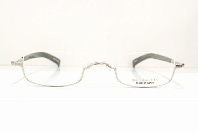 NOVA(ノバ)H-427 逆ナイロール手作りメガネフレーム新品 めがね 眼鏡 サングラス 彫金鯖江 手作り 職人