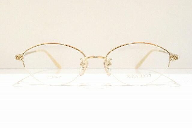 NINA RICCI(ニナリッチ)NR2675 メガネフレーム新品 めがね 眼鏡 サングラス 婦人用 七宝 職人 鯖江 手作り
