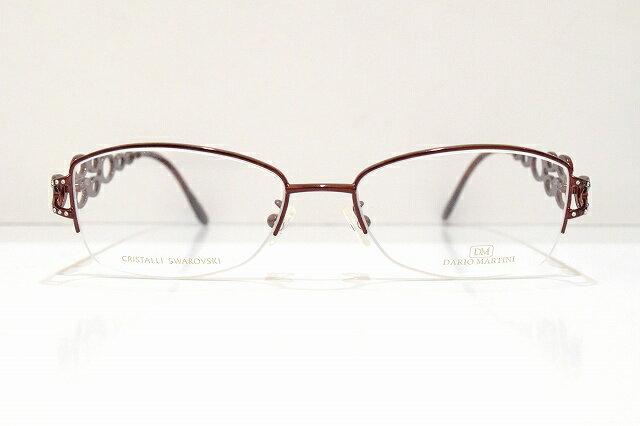 DARIO MARTINI(ダリオマルティーニ)DM152 メガネフレーム新品 めがね 眼鏡 サングラス スワロフスキー セレブ