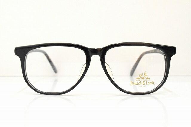 Bausch&Lomb(ボシュロム)ENTREE 764 ヴィンテージメガネフレーム新品 めがね 眼鏡 サングラス 黒ぶち