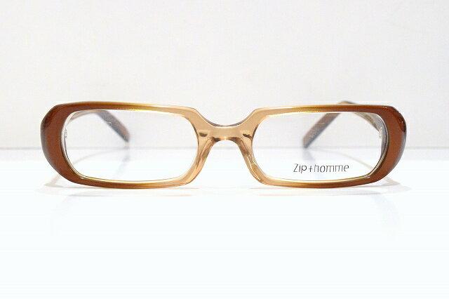Zip+homme(ジップオム)Z-0133 ヴィンテージメガネフレーム新品 めがね 眼鏡 サングラス 老眼鏡 ブルーライト 保護