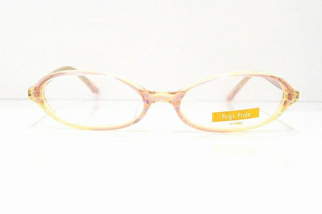 Prings Pride PP-3001 メガネフレーム新品 めがね 眼鏡 サングラス 日本製 バイオレット 可愛い 優しい