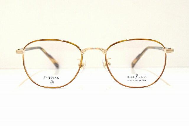 Bill&COO(ビル&クー)BC-772 メガネフレーム新品 めがね 眼鏡 サングラスSabae 鯖江 七宝クラシックメンズレディース