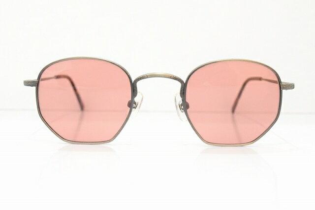 Indian(インディアン)1920ヴィンテージサングラス新品 SABAE VINTAGE めがね 眼鏡 メガネフレーム鯖江彫金ボストン型