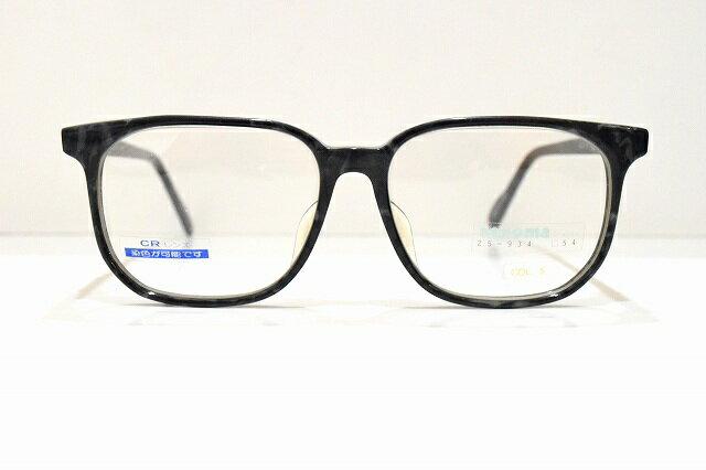 renoma(レノマ)25-934 ヴィンテージメガネフレーム新品 めがね 眼鏡 サングラス黒ぶち クラシック伊達カッコいい日本製