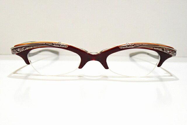 who's next(フーズネクスト)214 メガネフレーム新品 めがね 眼鏡 サングラス彫金ヴィンテージ芸術品鯖江 工芸品