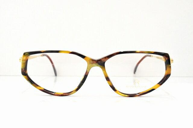 Rodenstock(ローデンストック)R7116 Dヴィンテージメガネフレーム新品めがね 眼鏡 サングラスべっ甲柄レア
