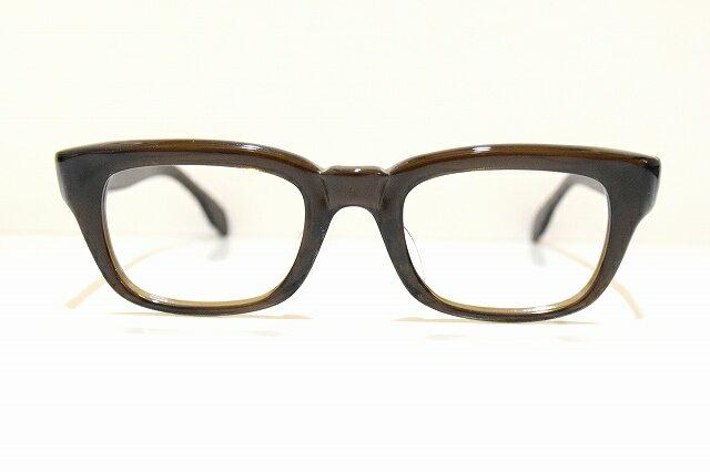 ELEGAR 696 col.ブラウンスモークヴィンテージメガネフレーム新品めがね 眼鏡 サングラスアメリカンクラシック