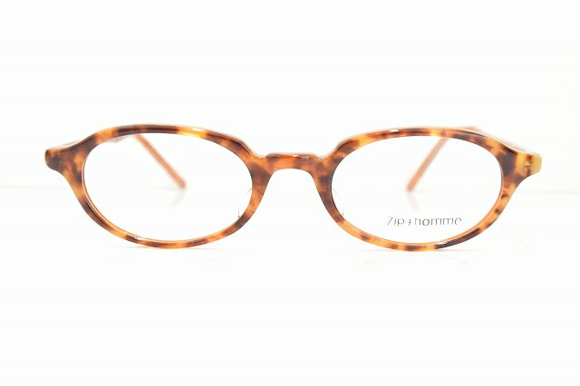 【18%OFF】 Zip+homme(ジップオム)Z-0042 col.2メガネフレーム新品 めがね 眼鏡 サングラスべっ甲柄ボストン型アメリカンクラシック, 津島市 e9795559