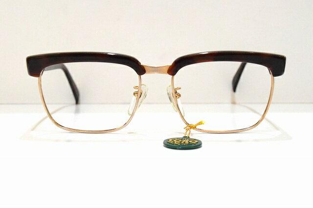 TWO RING(ツーリング)601 col.ブラウンマーブルヴィンテージメガネフレーム新品めがね 眼鏡 サングラスセルロイド