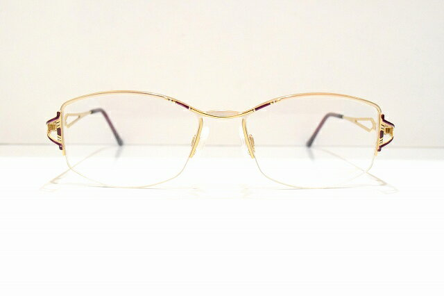 CAZAL(カザール)162 329メガネフレーム新品めがね 眼鏡 サングラス特価 婦人用 淑女高級品バネ付き近視 遠視