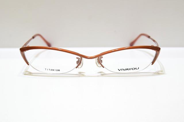 VIVAYOU ヴィヴァユー 直輸入品激安 直輸入品激安 508 col.3ヴィンテージメガネフレーム新品めがね眼鏡サングラスメンズレディース日本製ちょい悪