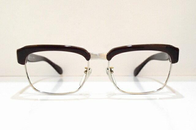 KOOKIGENTRY(ジェントリー)型WEST FENCEメガネフレーム新品サンプラチナセルロイドめがね 眼鏡 サングラスブロー