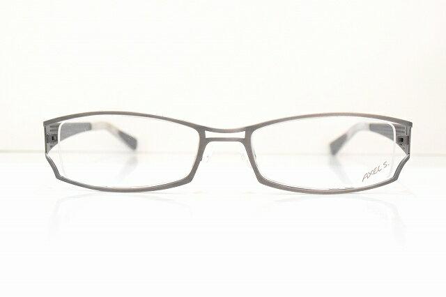 AXEL.S アクセル(AX722 col.90)メガネフレーム新品めがね 眼鏡 サングラスドイツかっこいいアンティークシルバー