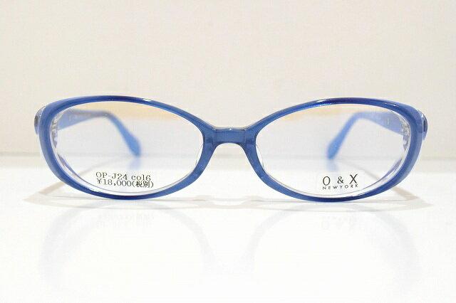 O&X NEWYORK OP-J24 06メガネフレーム新品めがね 眼鏡 サングラス強度近視レディース可愛いブランドKIO YAMATO