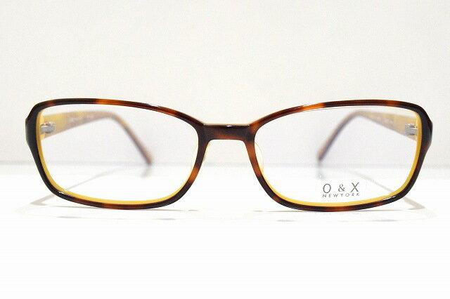 O&X KIO YAMATO OP-128A 01メガネフレーム新品めがね 眼鏡 サングラスべっ甲柄 デミブラウンメンズレディース