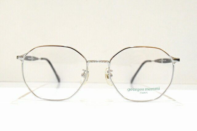 georges memmi(ジョルジュメミ)GM-9010 03ヴィンテージメガネフレーム新品めがね 眼鏡 サングラスクラシック