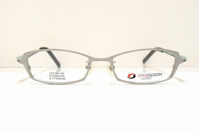 OPUSDESIGN(オーパスデザイン)OD-1110 col.3メガネフレーム新品めがね 眼鏡 サングラス蛇腹メンズレディース