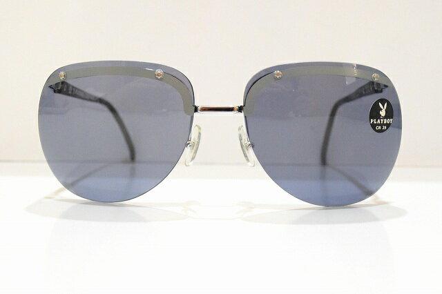 PLAYBOY(プレイボーイ)4510 2080年代サングラス新品めがね 眼鏡 サングラスふちなしヴィンテージオプチル