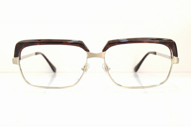 Clover(クローバー)SMG-204 col.BRメガネフレーム新品めがね鯖江眼鏡 サングラスブロー職人手作りヴィンテージ