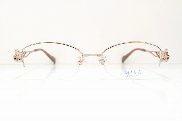 MIKA IKENOBO 池坊美佳 サングラスセレブデコレーション高級レディース オープニング 大放出セール M-2003 ☆新作入荷☆新品 PKメガネフレーム新品めがね鯖江眼鏡