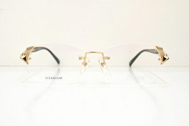 PURELE(ピュアレ)8007 50メガネフレーム新品めがね 鯖江眼鏡サングラス甲府宝石婦人レディース淑女ブランド有名人