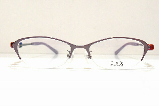 O&X NEWYORK OT-8042J col.05メガネフレーム新品めがね 眼鏡 サングラスカラーボール可愛いブランドチタン日本製