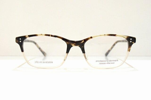 prodesign(プロデザイン)4764-1 c5444メガネフレーム新品めがね眼鏡サングラスべっ甲柄ウエリントンクラシック
