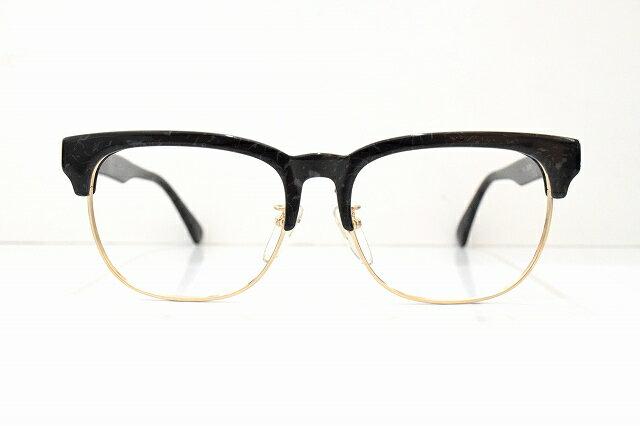ETUDE 1512 BKMヴィンテージメガネフレーム新品ブロー型めがね 眼鏡 サングラス鯖江クラシックビッグサイズブランド