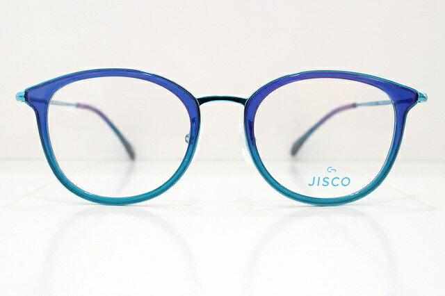 JISCO(ジスコ)PERNILLA col.TQメガネフレーム新品めがね眼鏡サングラススペイン地中海ブルーセレブおしゃれ可愛い