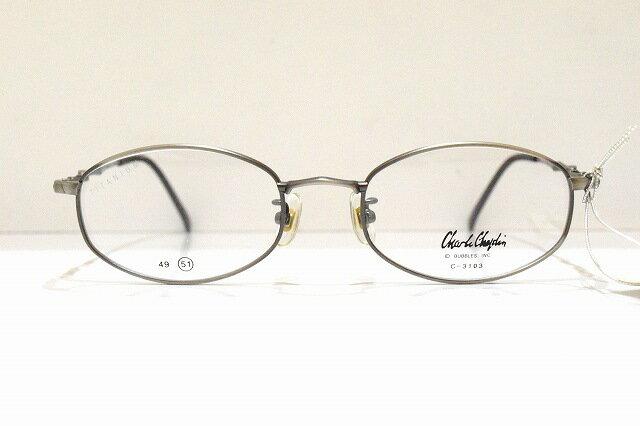 Chaplin(チャールズチャップリン)C-3103 col.2ヴィンテージメガネフレーム新品めがね眼鏡サングラスクラシック