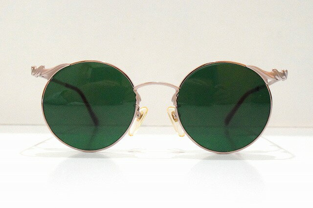 ADECA A-312ヴィンテージサングラス新品ラウンドめがね眼鏡メガネフレームメンズレディース丸型鯖江日本製