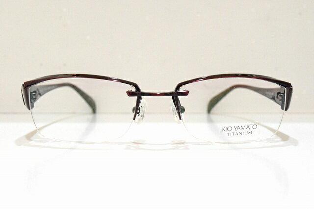 KIO YAMATO(キオヤマト)KT-318 col.70Cメガネフレーム新品めがね眼鏡サングラスちょい悪ブランド鯖江スーツフォーマル