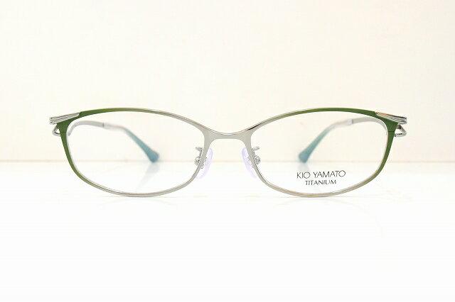 KIO YAMATO(キオヤマト)KT-478J col.05メガネフレーム新品めがね眼鏡サングラスグラデーションレディース婦人女性用