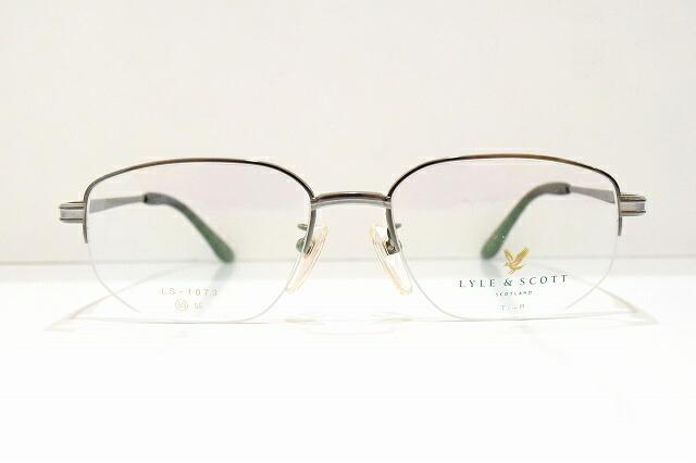 LYLE&SCOTT(ライル&スコット)LS-1073 col.2メガネフレーム新品めがね眼鏡サングラス紳士用men'sメンズ日本製