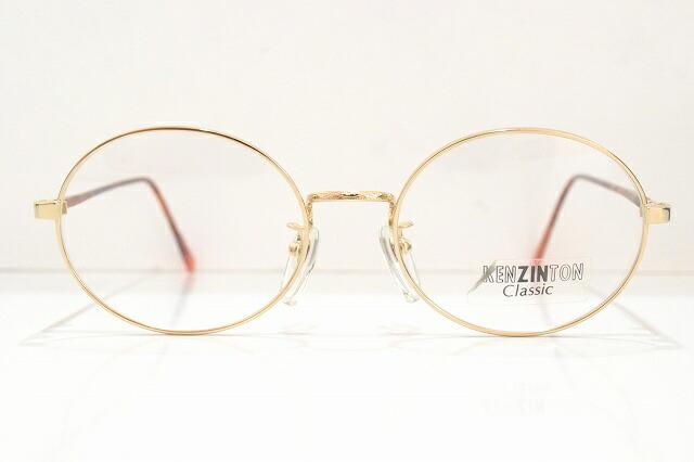 KENZINTON(ケンジントン)KEN-7T 323メガネフレーム新品めがね眼鏡サングラスべっ甲柄ラウンドヴィンテージクラシック