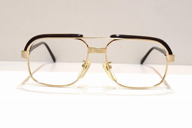 ESPOIR 7305 col.GPヴィンテージメガネフレーム新品めがね眼鏡サングラスブロークラシックメンズ紳士男性用ブランド