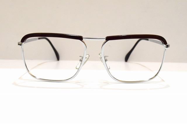 LINER OMCO Wヴィンテージメガネフレーム新品めがね眼鏡サングラス西ドイツWEST GERMANYブロークラシックブランド