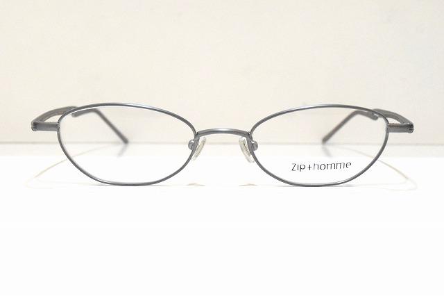 Zip+homme(ジップオム)Z-0121 col.7メガネフレーム新品めがね眼鏡サングラスクラシックシンプルシャープメンズレディース