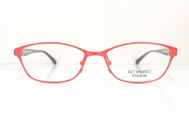 KIO YAMATO(キオヤマト)KT-353A col.202メガネフレーム新品めがね眼鏡サングラス鯖江チタン特価レディース女性婦人用